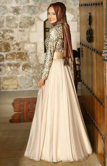 Contoh Cara Memperpadukan Baju Muslim Pesta Pipitsiputri